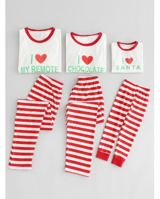 Christmas I Love My Remote Family Pajama Set -  Dad L