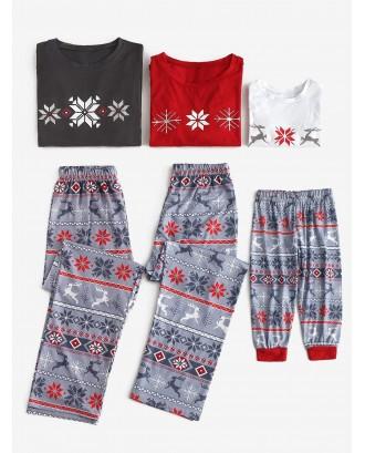Christmas Patterned Family Matching Pajama Set -  Dad S
