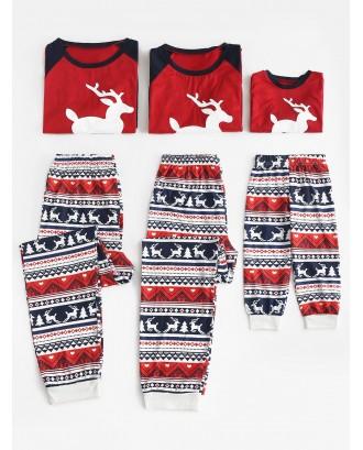 Christmas Patterned Matching Family Pajamas -  Dad M