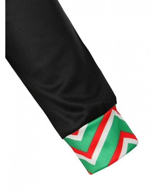 Christmas Horse Feet Printed Pullover Hoodie -  2xl